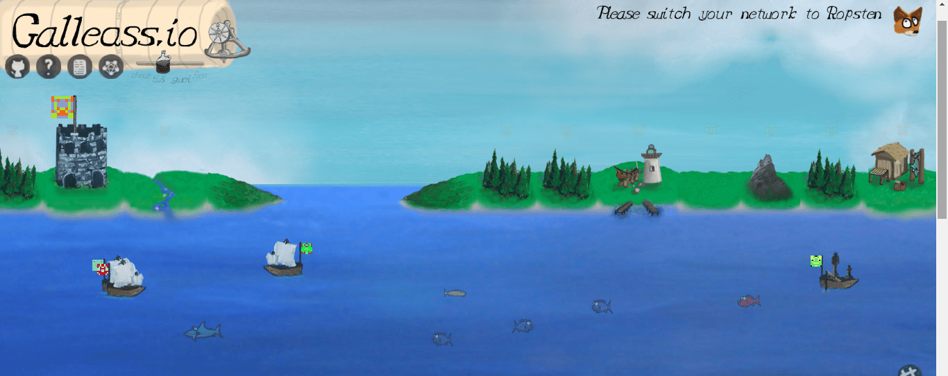 Galleass:航海时代背景的去中心化开源资源管理游戏