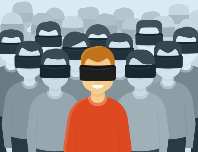 VR 虚拟现实:区块链的杀手级应用