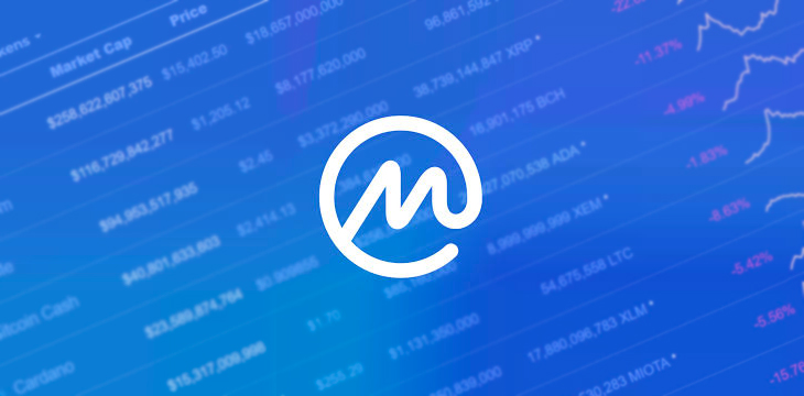 CoinMarketCap对排名系统进行了进一步的更改