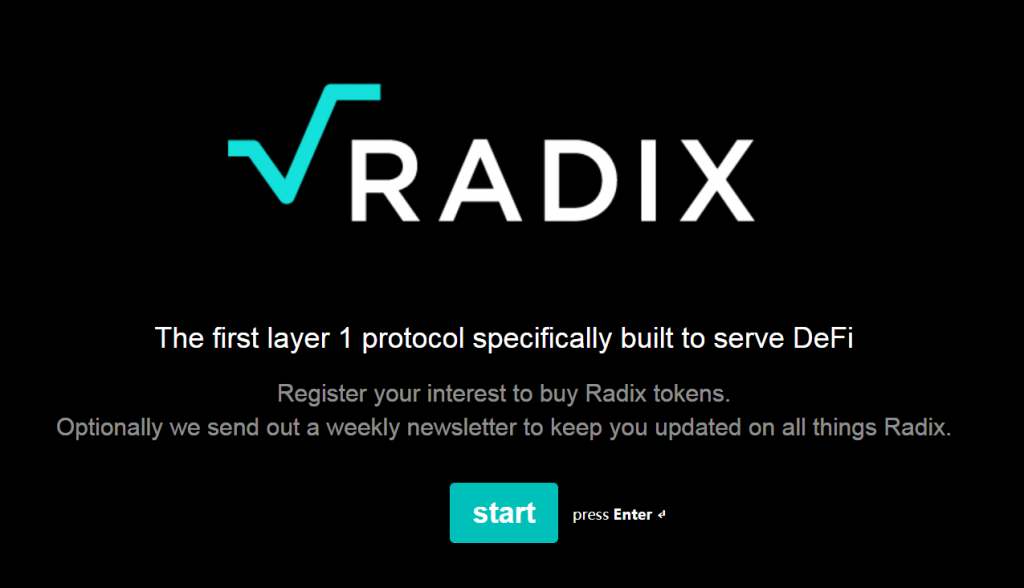 Radix推出首个用于DEFI的第一层协议