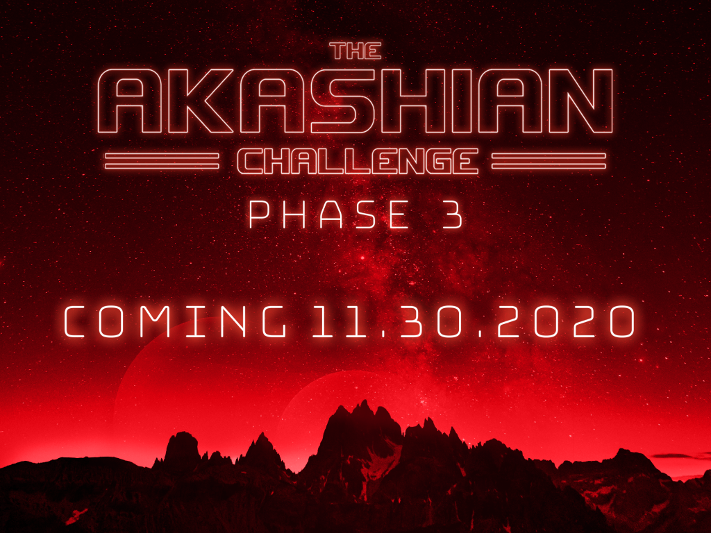 Akashian挑战赛第三阶段预告