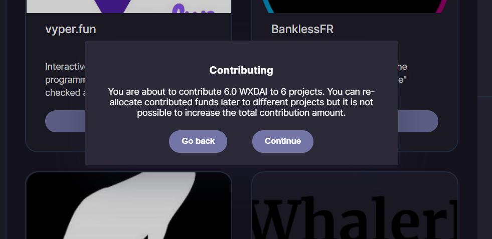xDai 指南:如何通过 clr.fund 支持公共产品项目?